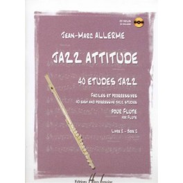 Jazz attitude +CD flûte traversière - Livre 2