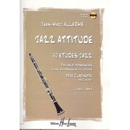 Jazz Attitude + CD clarinette - Livre 2
