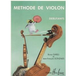 Méthode de violon - débutants