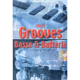 Grooves basse & batterie +CD