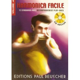 Harmonica facile + CD - Volume 1
