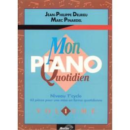 Mon piano quotidien - Volume 1
