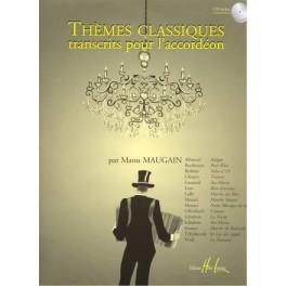 Thèmes classiques pour l'accordéon + CD