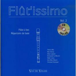 Flût'issimo +CD - Répertoire de base- volume 2