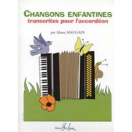 Chansons enfantines pour l'accordéon
