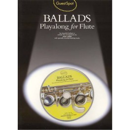 Guest spot + CD - Ballads playalong for flute