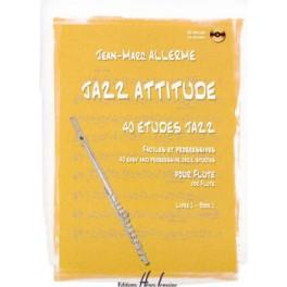 Jazz attitude +CD flûte traversière - Livre 1