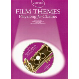 Guest spot + CD - Film themes playalong for clarinet