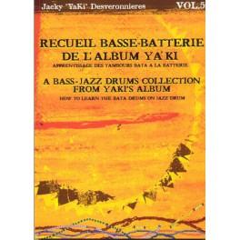 Apprentissage des tambours Bata à la batterie - Volume 5