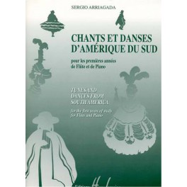 Chants et danses d'Amérique du Sud - première année flûte et piano