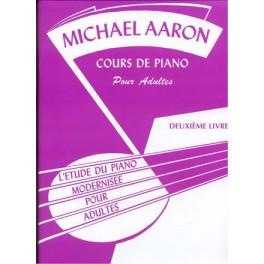 Aaron cours de piano pour adultes - Deuxième livre
