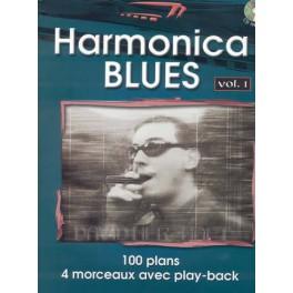 Harmonica blues +CD - Volume 1