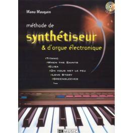 Méthode de synthétiseur & orgue électronique +CD