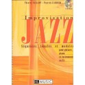 Improvisation jazz + 2 CD - Volume 1