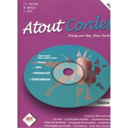 Atout Cordes +CD - Volume 1