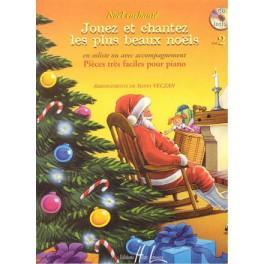 Noël enchanté + CD - Volume 2 (Piano et Chant)