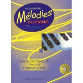 Mes premières mélodies au piano +CD - Volume 1 (Piano et Chant)