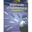 Méthode d'harmonica sp. déb. + CD - volume 1 - David Herzhaft