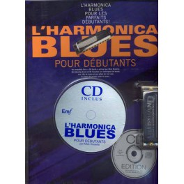 Harmonica blues Pack + CD + Harmonica - Harmonica blues pour débutant