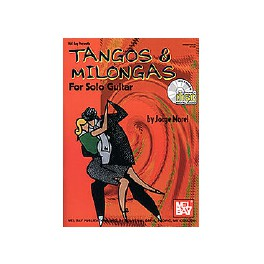 Tangos & Milongas for solo guitar vol. 1 + CD