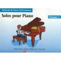 Méthode de Piano Hal Leonard - Solos pour piano vol.1