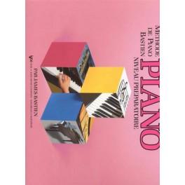 Bastien méthode de piano - Piano niv. préparatoire