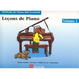 Méthode de Piano Hal Leonard - Leçons de piano vol.1