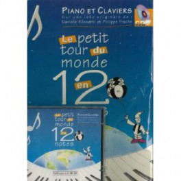 Le petit tour du monde en 12 notes + 1 CD