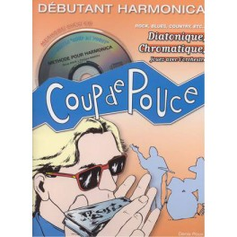 Coup de pouce Méthode d'harmonica débutant + CD