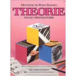 Bastien méthode de piano - Théorie niv. préparatoire