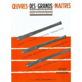 Oeuvres des grands maitres