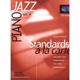Jazz Standards à la carte + CD - Piano jazz vol. 4