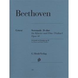 Sérénade pour piano et flûte (violon) op. 41