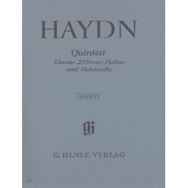 Quintette en mi bémol majeur Hob. XIV.1 pour piano, 2 cors, violon et violoncelle