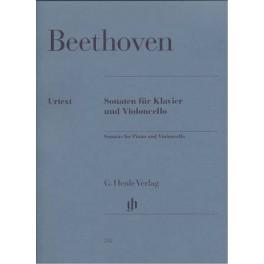 Sonaten Klavier und Violoncello