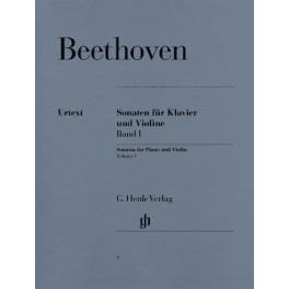 Sonates pour piano et violon, volume I