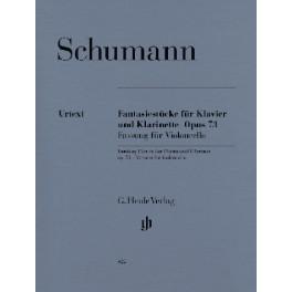 Fantasiestücke pour violoncelle et piano op. 73 (version pour violoncelle)