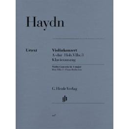 Concerto pour violon et orchestre en la majeur Hob. VIIa 3