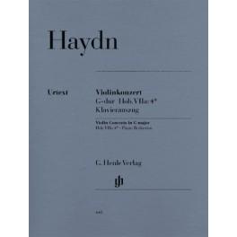 Concerto pour violon et orchestre en sol majeur Hob. VIIa 4