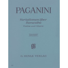 60 Variations sur Barucabà pour violon et guitare op. 14