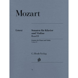 Sonates pour piano et violon, volume II