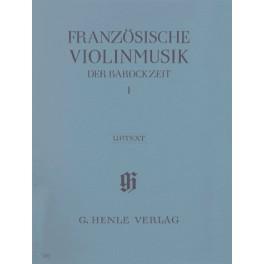 Musique française pour violon de l'époque baroque volume I