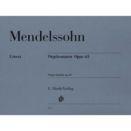 Sonates pour orgue op. 65