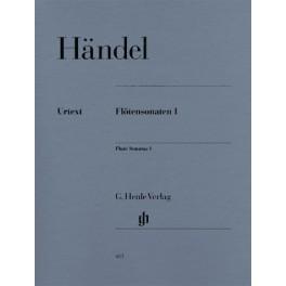 Sonates pour flûte, volume I (avec une partie de Flûte/Basse continue (deux exemplaires))