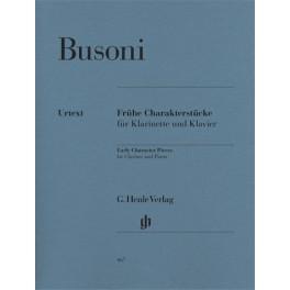 Pièces de caractère de jeunesse pour clarinette et piano (première édition)