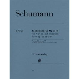 Fantasiestücke für Klavier und Klarinette op. 73 (Fassung für Violine)