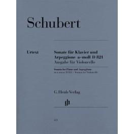 Sonate für Klavier und Arpeggione a-moll D 821 (op. post.) (Fassung für Violoncello)