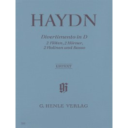 Divertimento en ré majeur Hob. II 8 pour 2 flûtes, 2 cors, 2 violons et violoncelle
