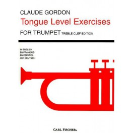 Tongue level exercises for trumpet