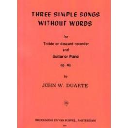 3 Simple Songs